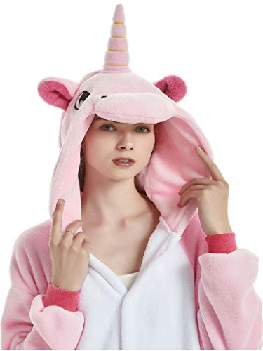 Adult Onesies for Women Unicorn Pajamas Men Teens Girl Halloween Costumes Animal