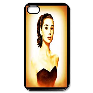 DIY Printed Audrey Hepburn cover case For iPhone 4,4S BM6200223