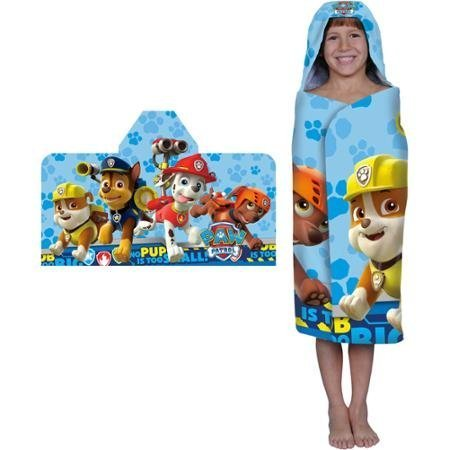 Paw Patrol Rescue Crew Hooded Bath Towel