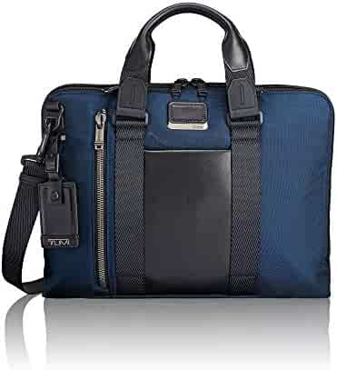 TUMI - Alpha Bravo Aviano Laptop Slim Brief Briefcase - 15 Inch Computer Bag for Men and Women