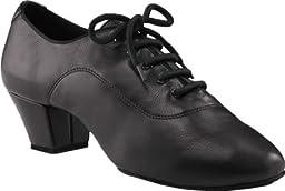 Capezio Men\'s 2 Inch Latin Social Dance Oxford,Black,10 M US