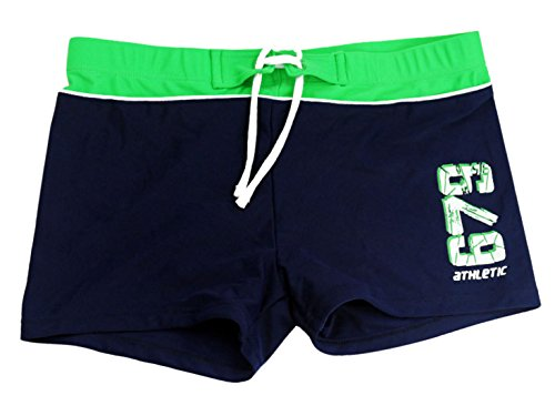 Happy Cherry Boys Swim Trunks Sun Protection Adjustable Rope Underpants 7-8 - Trunks Swimming Professional