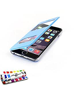 "Muzzano F1407360 - Funda para Apple iPhone 6 de 4.7"", color azul"