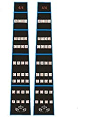 Violin Finger Fingerboard Sticker Guide Fingerboard Sticker Finger Grafiek Fret Guide Label Fretboard Marker Indicator Viool Accessoires 2 Stuks