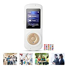 Speech Translation,52 Languages Simultaneous Interpreting 4G WiFi Wireless Interpretation Best Pocket Language Translator,White