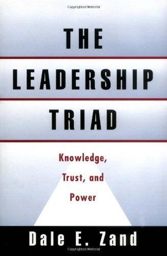Triad Controls (The Leadership Triad: Knowledge, Trust, and Power: Knowledge, Trust and Power)