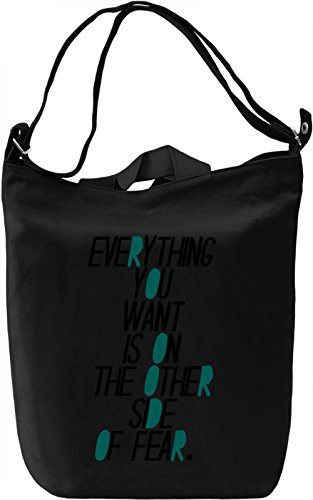 Everything You Want Borsa Giornaliera Canvas Canvas Day Bag| 100% Premium Cotton Canvas| DTG Printing|