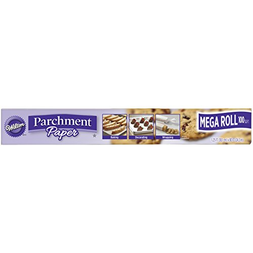 Wilton 415-3247 Non-Stick Mega Parchment Roll, 100 sq. ft., White