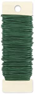 Darice Paddle Wire 20 Gauge 110 Feet-Green