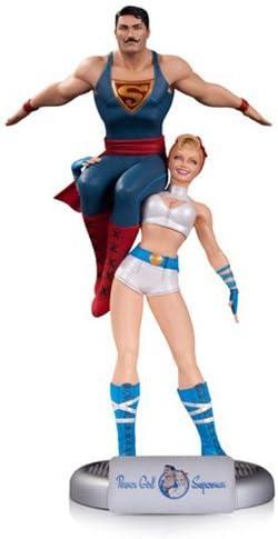 DC COMICS BOMBSHELLS POWER GIRL & SUPERMAN STATUE