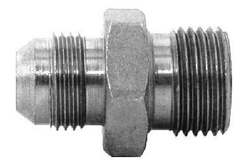 Steel 7//8-14 x 1-11 Tompkins Industrial Tompkins Industries 3820-10-16 JIC to BSPP Dual Purpose