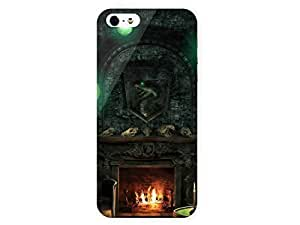 iPhone 5&ipod touch4 Case Slytherin Wiki 3D Full Wrap