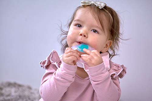 BPA /& Phthalate Free Baby Toothbrush Teether with Grip Handle 6 Month+