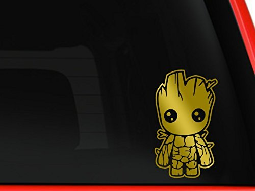 Baby Groot Guardians of the Galaxy Car Truck Macbook Mac Air