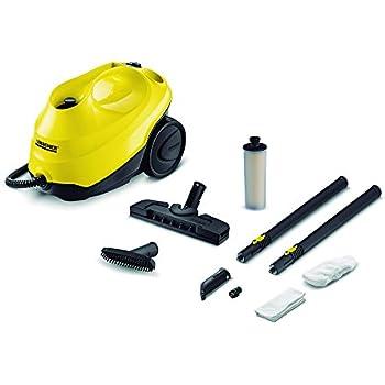 Karcher Limpiador de Vapor con Cartucho de Descalcificación, color Amarillo