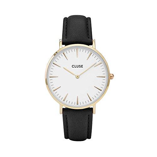 Cluse La Bohème Gold White/Black Armbanduhr CL18406