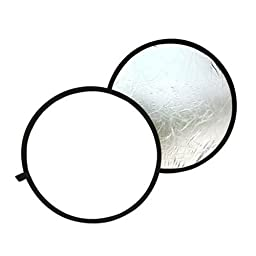 Round reflector - TOOGOO(R)Round reflector for product photography and portraits 60cm