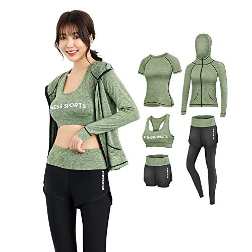 2020 Spring and Fall Yoga Clothing Sets Running Speedos Professional Sports Fitness Clothing Sets Custom Hair Generation