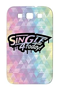 Singles Alone Tour For Solo Single Player Love Hero Woman Pimp Today Black TPU Sumsang Galaxy S3 4 1 F1 Case Cover