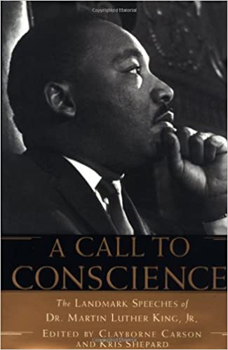 A Call to Conscience: The Landmark Speeches of Dr. Martin Luther King, Jr.: Clayborne Carson, Kris Shepard, Andrew Young: 9780446523998: Amazon.com: Books