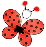 Creative Education's Ladybug Wings With Headband