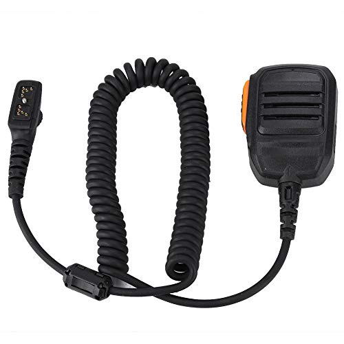 Walkie Talkie Handheld Speaker Microphone with Magnetic Ring Waterproof  Walkie Talkie PTT Speaker Mic for HYT Hytera PD700 PD700G PD780 PD780G  PD780GM