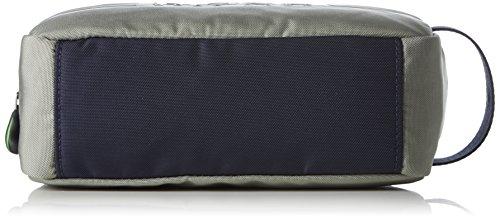 BOSS Athleisure Herren Pixel_washbag Taschenorganizer, 9x15.5x25 cm Grau (Medium Grey)