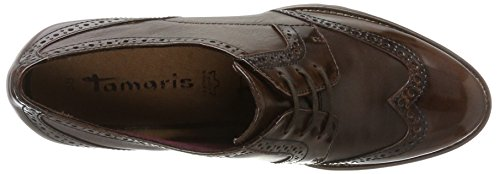 Oxford Marrone Scarpe maroon 23302 Tamaris Donna Stringate t716wxq