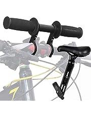 Barncykelsadel för mountainbike, barn MTB barnstol och styre, främre cykelsadel för aktiv ridning, bärbart barn MTB styre fäste för alla cyklar, lätt att installera och ta bort (22 kg)