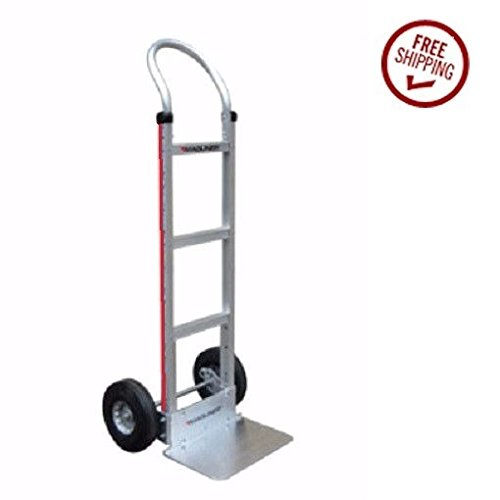 Hand Truck Aluminum Hand truck with Solid 18'' Nose & Air Tires 111-G1-1060 by Magline Modular (Image #3)