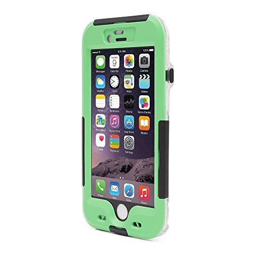 iProtect Apple iPhone 6, 6s (4,7 Zoll) wasserdichtes Outdoor Case Schutzhülle ultradünn in grün
