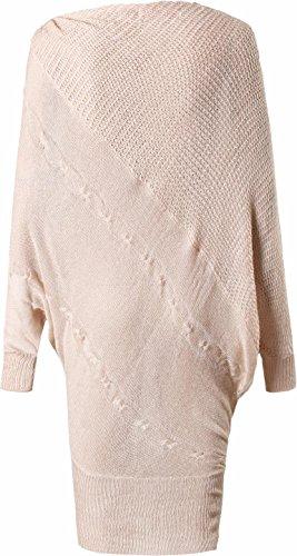a Donna Sweater WKD301 Gray Maglione Lunghe jeansian Bat Autunno Maniche Fascino Sciolto Moda g6Ywqa
