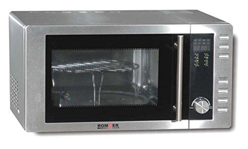 Rommer M 952 - Microondas sencillos, 1250 W, color gris ...