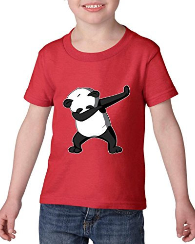 Artix Dancing Panda Birthday Gifts Fashion People Couples Gifts Best Friend Gifts Heavy Cotton Toddler Kids T-Shirt Tee Clothing 5T -