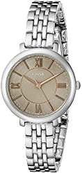 Fossil Women's ES3846 Jacqueline Small Three-Hand Stainless Steel Watch