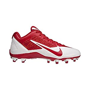 NIKE Mens Alpha Pro TD SB Low Football Cleats Kansas City Chiefs Red White (13 D(M) US, Red/White)