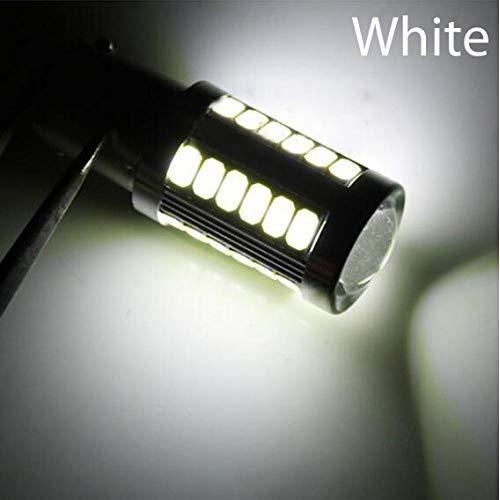 (Auto LED Brake Light Car Rear Fog Lamp COB DRL LED Turn Signal Light Bulb 1156 1157 P21W BA15S 33 SMD 5630 5730 White 1156 Base)