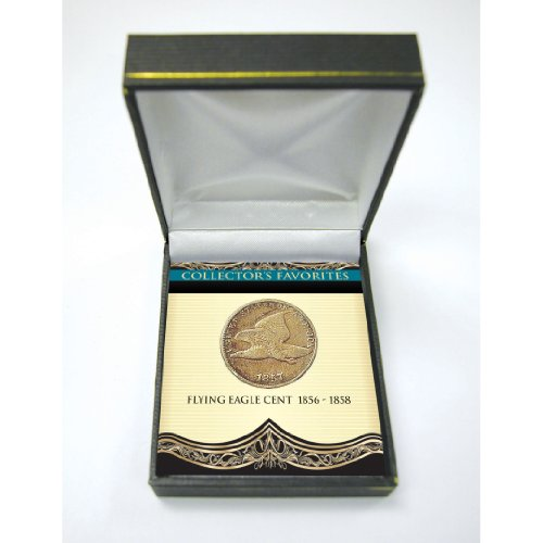 American Coin Treasures Collector's Favorites Flying Eagle Cent 1856-1858 - Eagle 1856 Cent Flying