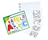 Crayola Alphabet Pad, Tracing Worksheets, 30