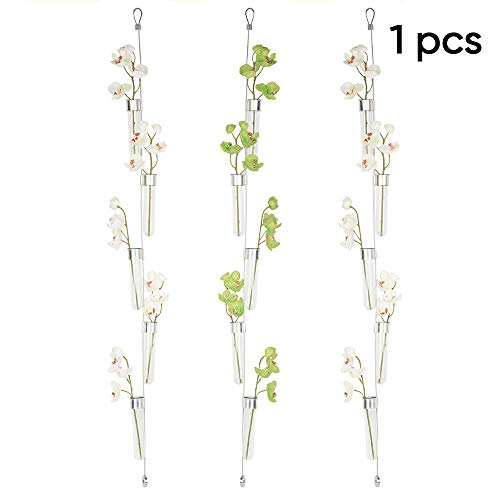 Chive - Hanging Vase, 5 Test Tubes on a Wire, 4