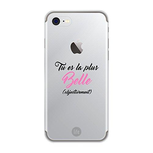 Muvit Life Coque Looove Case Belle Objectivement Apple Iphone 7 - Idéal Cadeau fête des Mères