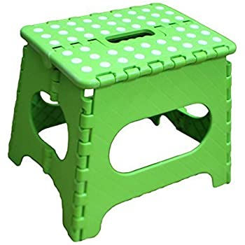 Amazon Com Folding Step Stool 15 Inch With Anti Slip Dots
