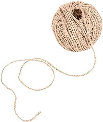 Cuerda de cáñamo Biodegradable Fuerte para empaque de Regalo de ...