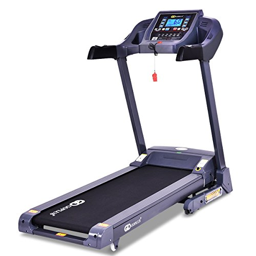 CHOOSEandBUY 2.5 HP Folding Electric Treadmill Motorized Running Machine Support Motorized Running Machine Support