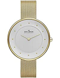 Women's SKW2141 Gitte Gold Mesh Watch