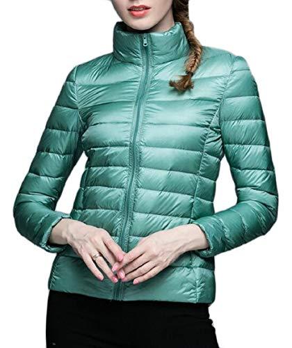 Light Womens Packable Jacket Stand Ultra Lightweight Down Coats 1 Collar security dwAt4qXOX