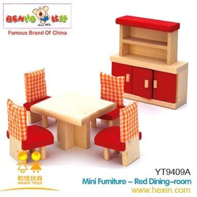Dollhouse Dining Room Furniture Set 7