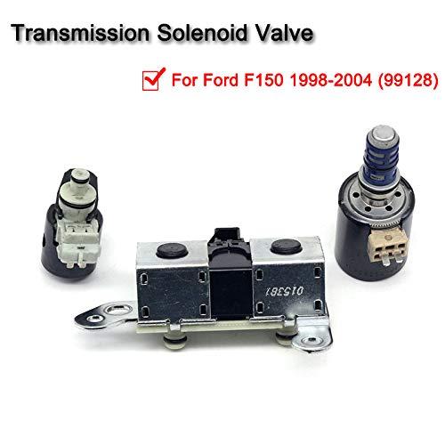 99128 Transmission Solenoid Kit,4R70W 4R75W Solenoid Set Shift//EPC//TCC for Ford F150 1998-2004