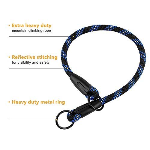 BronzeDog Rope Dog Choke Collar