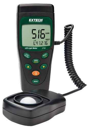 41Qv54Bg%2BtL Extech LED Light Meter